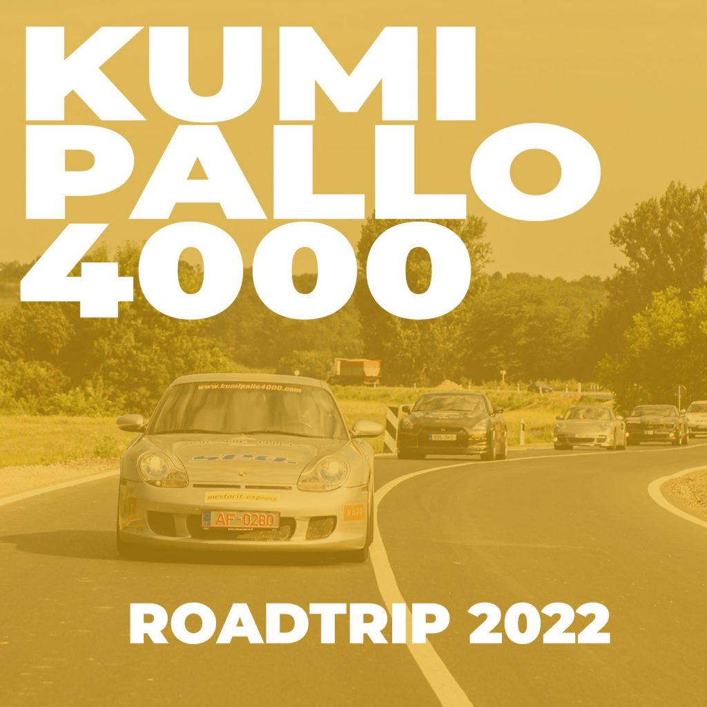 Kumipallo4000 - Roadtrip 2022