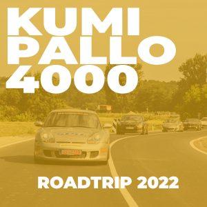 Kumipallo4000 - Roadtrip 2022